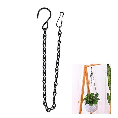 Lot de 12 chaînes en métal à suspendre pour pots de fleurs pour mangeoires, pots de fleurs, lanternes, ornements (B)