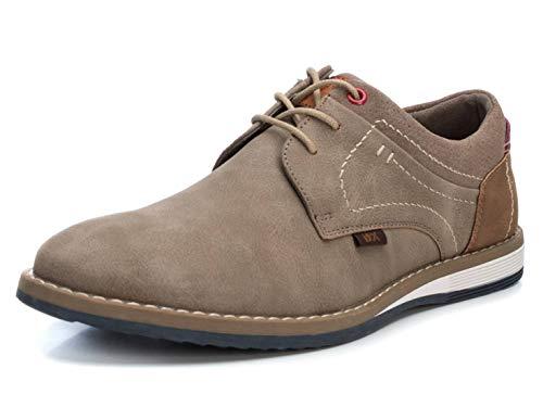 XTI Zapato Oxford BAS034303 para Hombre Marrón 41