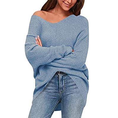 Amazon - Save 60%: ANRABESS Women's Batwing Sleeve Dolman Ribbed Knit Sweaters Ove…