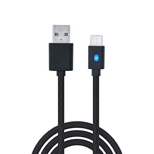 Mcbazel Dobe 3M Type-C USB Charging Cable for PS5/Xbox Elite 2/Series X/Series...
