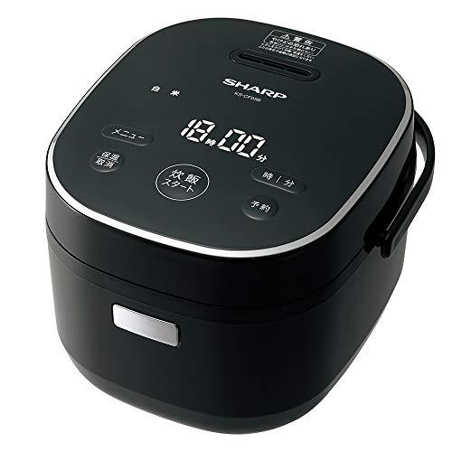 シャープ 炊飯器 マイコン 3合 パン調理機能 ブラック KS-CF05B-B