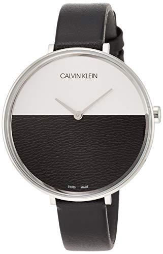 Calvin Klein Damen-Uhren Analog Quarz One Size Schwarz 32005856