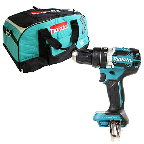 Makita DHP484 18v Brushless Combi Drill with Makita LXT400 Bag