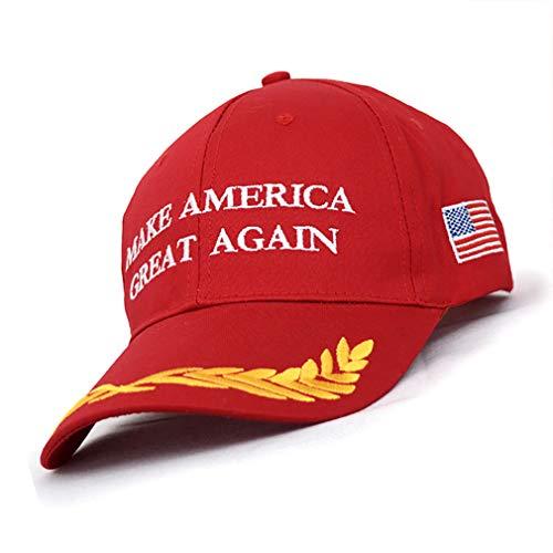 Beito 2020 Donald Trump Red Hat Wiederwahl Halten Sie Amerika Große Stickerei Usa Flag MAGA New Cap Cotton Baseball-Kappe