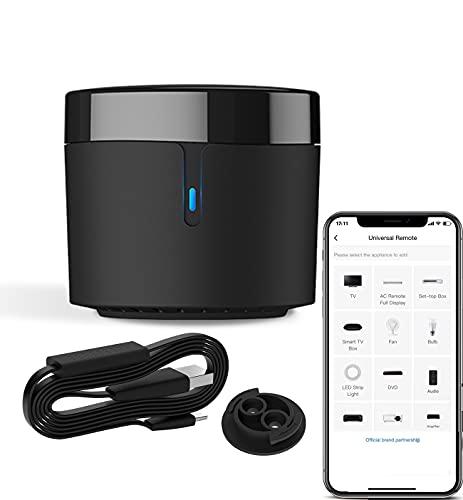 Broadlink RM4 Mini IR+HTS2 Temperature Humidity Sensor WiFi IR Remote Controller for Air Conditioning TV Set-top Box Work with Alexa