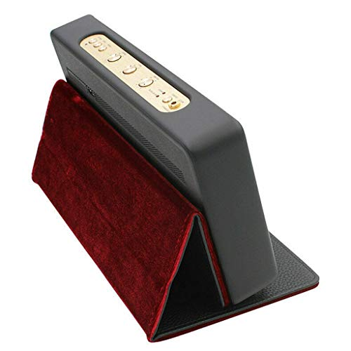 Yusell Faltbare Stand-Case-Abdeckung für Marshall Stockwell Speaker BT Speaker Black