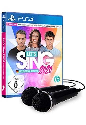 Let's Sing 2020 mit deutschen Hits [+ 2 Mics] [Playstation 4]