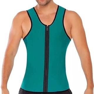 Men Sauna Sweat Suits Waist Trainer Vests Weight Loss Slim Shirt Workout Suit Neoprene Hot Shaper Body Slimming Belt Corset Reductora Hombre for Men