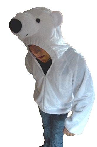 Ikumaal Eisbär-en Kostüm-e F115 L Männ-er Tier- Bär- Eskimo-s Fasching-s Karneval-s