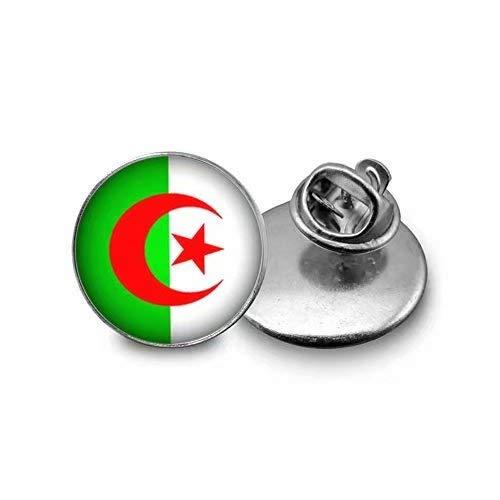 Xubu Nationaal Symbool Vlag Sieraden, Algerijnse Vlag Brooches, Nationale Vlag Broches