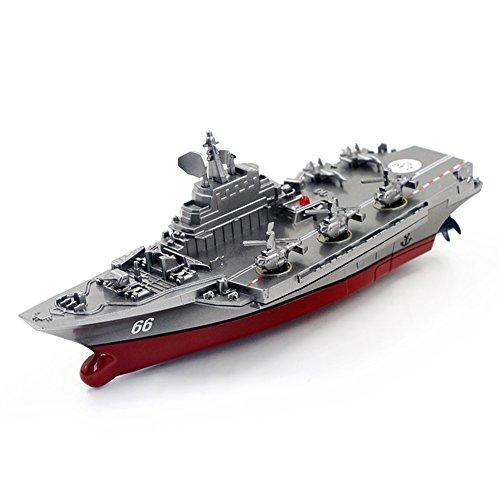 2.4G Fernbedienung Militär Kriegsschiff Modell Elektrische Spielzeug Wasserdicht Mini Flugzeugträger/Coastal Escort Geschenk für Kinder