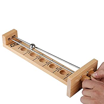 Star Jiajie Shoot The Moon Game Classic Desktop Games Wooden Hockey Play for Adult Children s Educational Toys
