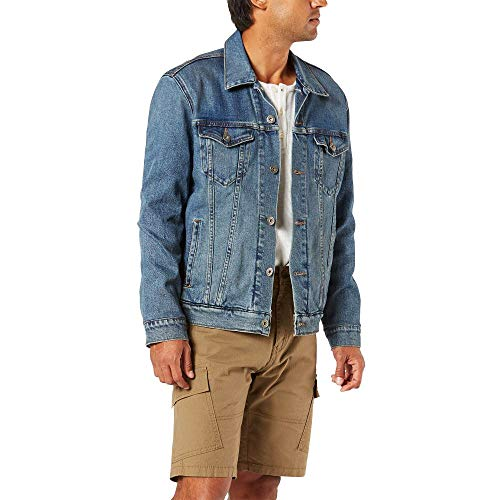 Signature by Levi Strauss & Co. Gold Label Men's Signature Trucker Jacket, Johnny, Large