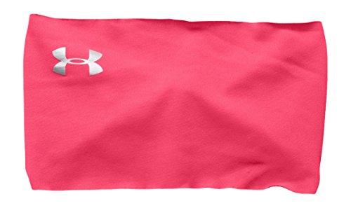 Under Armour - Banda para la cabeza, de mujer, para entrenamiento, sin costuras, primavera/verano, mujer, color Harmony Red, tamaño talla única