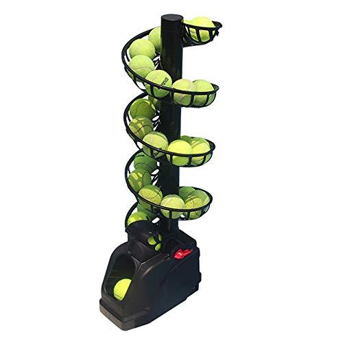 AnBt Tennis Machine Tennis Serving Machine Lightweight Tennis Toss Machine Plug...