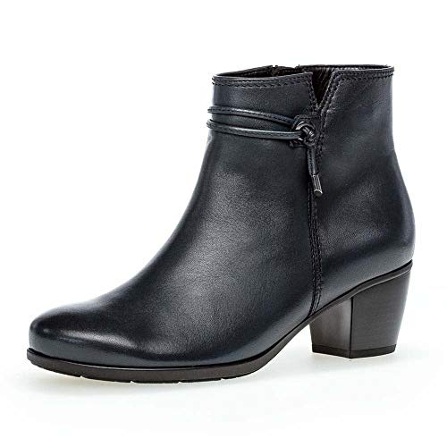 Gabor Damen Elegante Stiefeletten, Frauen Ankle Boots,Wechselfußbett,Hovercraft-Luftkammersohle,Best Fitting,Ocean (Effekt),38.5 EU / 5.5 UK