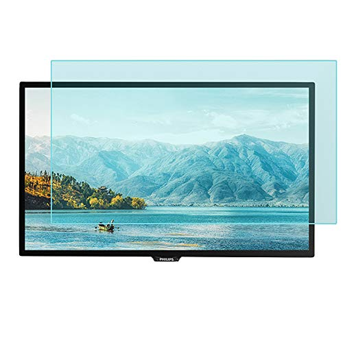 JANEFLY Anti Blaues Licht Fernseher Bildschirm Schutz 32-70 Zoll, Augenschutz Blaues Licht Blöcke Filterfilm Schutz Augenermüdung Für LCD, LED, OLED & QLED 4K HDTV,70in(166.1x90cm)