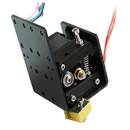 PETSOLA Impresora 3D De Aluminio Motor Extrusor Mk8 Y Boquilla Simple Para Prusa I3