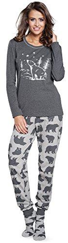 Italian Fashion IF Pijama Camiseta y Pantalones Mujer IF180002