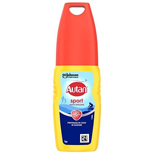 Autan Sport Vapo Insetto Repellente e Antizanzare, 100 ml