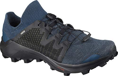 Salomon Cross W Pro Trail Scarpe da corsa da donna, blu (Abisso Mare di Sargasso Nero), 42.5 EU