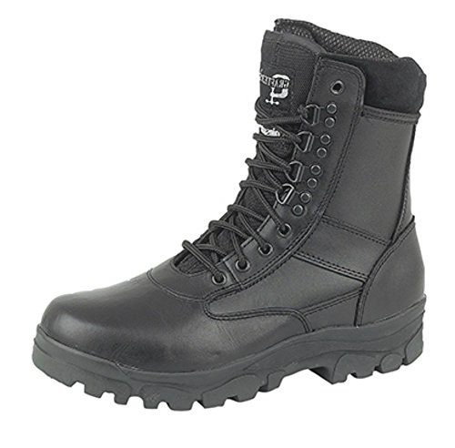 Grafters Hi-Leg Combat Boots With Steel Sole Protection. Police Security...
