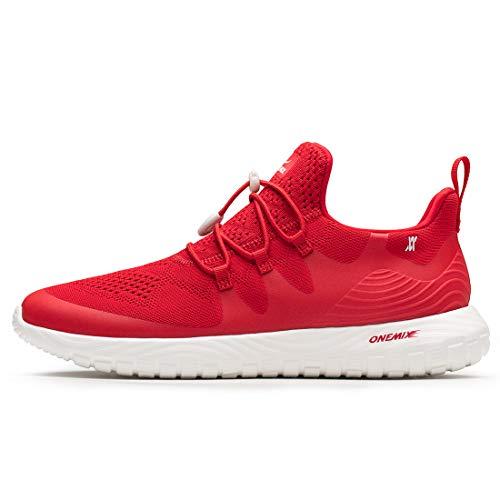 ONEMIX Sportschuhe Herren Damen Sneaker Gym Laufschuhe Leichtgewicht Turnschuhe Freizeit Outdoor Slip-on Sneaker