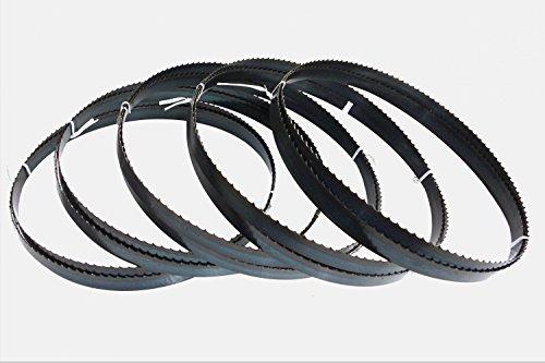 5 x Sägebänder Sägeband 2100 x 16 x 0,65 mm 4 ZpZ Holz Scheppach HBS 32 Vario