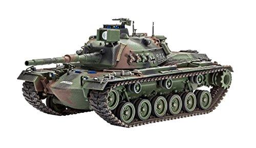 Revell Modellbausatz Panzer 1:35 - M48 A2GA2 im Maßstab 1:35, Level 4, originalgetreue Nachbildung mit vielen Details, 03236