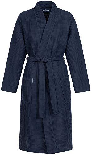 Morgenstern Mujer Albornoz Kimono Bata de Piqué Algodón