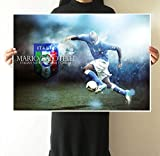 Nationalmannschaft Poster Italienischer Fußballstar