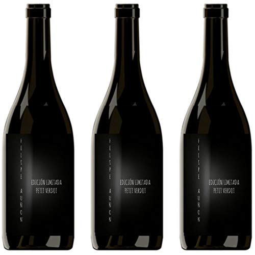 Felipe Auñon Vino Tinto  - 3 botellas x 750ml - total: 2250 ml