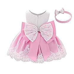 Pink-C Color Tutu Dress With Rhinestones for Baby