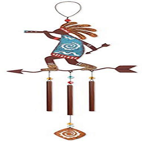 Sunset Vista Designs Kokopelli Arrow Wind Chime, 22'