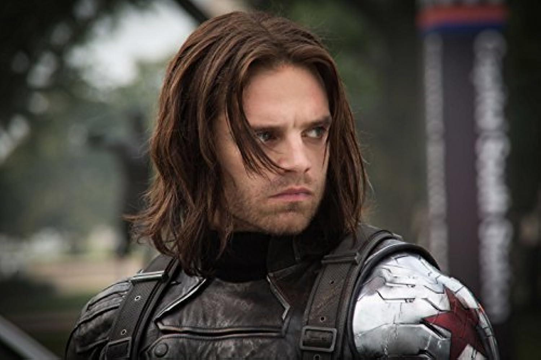 BUCKY - Captain America  The Winter Soldier (2014)   Movie Poster (Thick) Original Größe 24 x 36 Inch - Chris Evans, Frank Grillo, Sebastian Stan by WMG