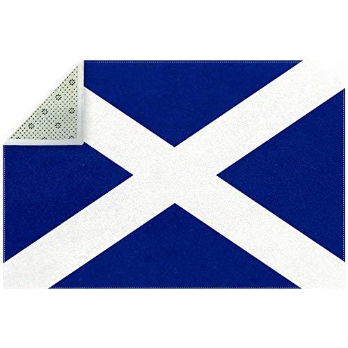 Dragon Sword Extra großer Teppich Schottland St. Andrews Kreuz rutschfeste Bodenmatte für Wohnzimmer Spielzimmer Schlafzimmer Büro Heimdekoration Textil multi 200x150cm/79x59in