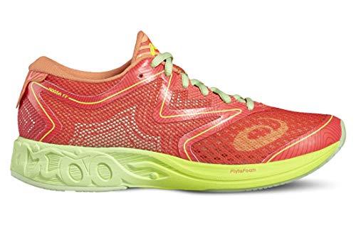 Asics Noosa FF, Zapatillas de Running Mujer, Multicolor (Diva Pink/Paradise Green/Melon), 37.5 EU