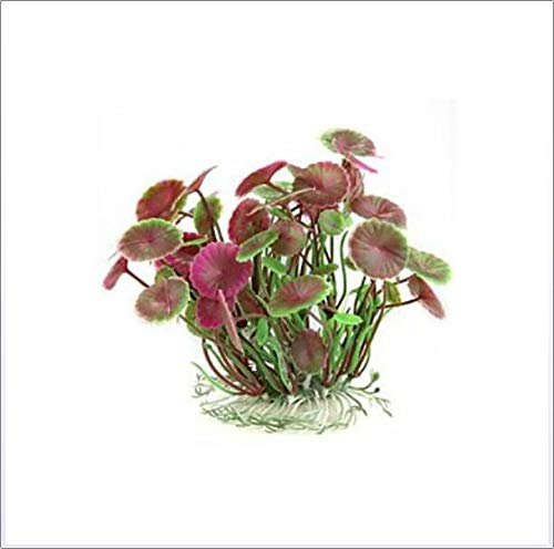 Plastic Kunstmatige Flower Plant Fish Tank Pond aquarium decoratie, Aquarium Decoratie hulpmiddelen