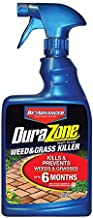 BioAdvanced 704340A DuraZone Weed & Grass Killer, Non-Selective Herbicide with 6 Months of Protection, 24-Ounce, Ready-To-Use