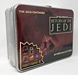 Star Wars Return of the Jedi Metal Lunchbox & Accessories Collectible 5 Piece Set