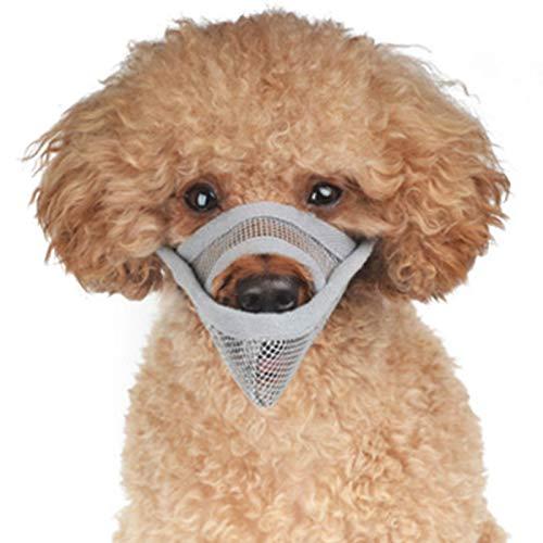 Alfie Pet - Lance Adjustable Quick Fit Nylon Muzzle - Color: Grey, Size: Small