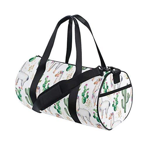 HARXISE Bolsa de Viaje,Postre Camel Animal Pattern Print,Bolsa de Deporte con Compartimento para Sports Gym Bag