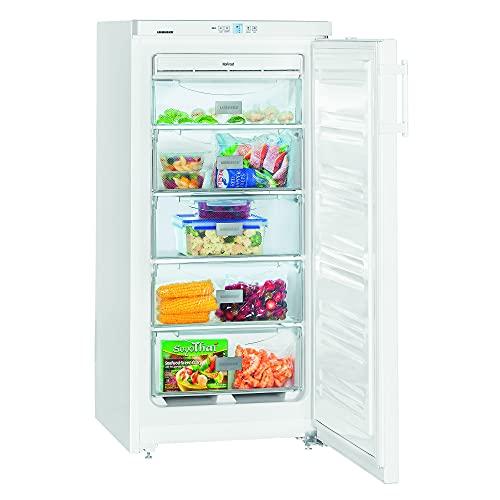 LIEBHERR Congelador GNP 1913 Comfort NoFrost Congelador Vertical Mediano con Tecnología de Frío NoFrost A++ 125,0x60,0x63,0 cm Cajones 5 Color Blanco