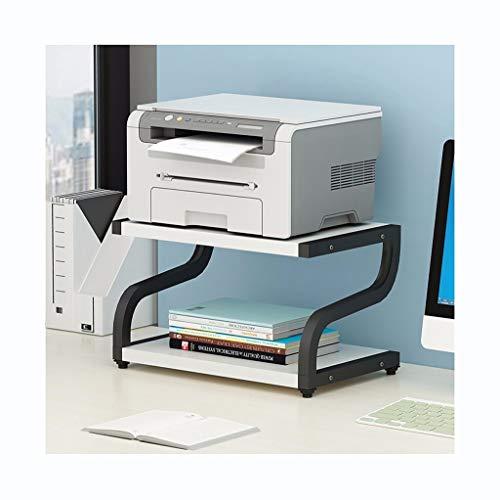 Yxx max - Home Decoration Flower Stand Office Desk File 2 Layer Storage Rack Creatieve Printer Plank Moderne Minimalistische Ruimtebesparende Multi-layer Storage Rack Display stand