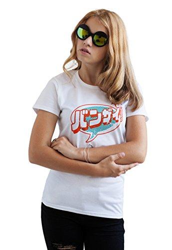 Strand Clothing - T-Shirt - Manches Courtes - Femme Blanc Blanc - Blanc - X-Large