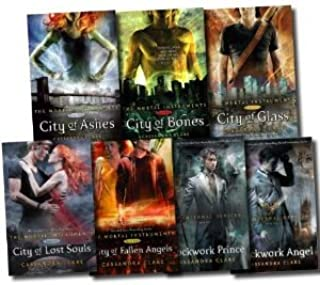 Cassandra Clare The Mortal Instruments and The Infernal Devices Collection 7 Books Set Pack (City of Fallen Angels, City o...