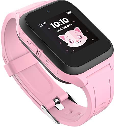 TCL Kinder Smartwatch 'MT40X' MOVETIME, GPS, Kamera und Notruftaste, Pink