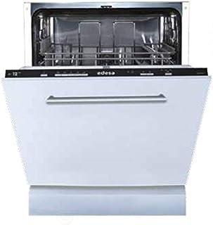 Edesa EDB-6021-I lavavajilla Totalmente integrado 12 cubiertos A+ - Lavavajillas (Totalmente integrado, Blanco, Tamaño completo (60 cm), Negro, Tocar, 12 cubiertos)