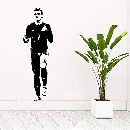Tianpengyuanshuai creatieve voetballer vinyl sticker kinderkamer party decoratie muursticker huis decoratie behang