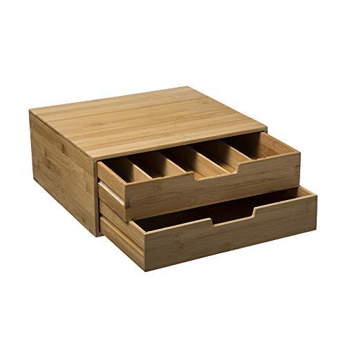 Five - Cassetto portacapsule, in bambù cm bambù